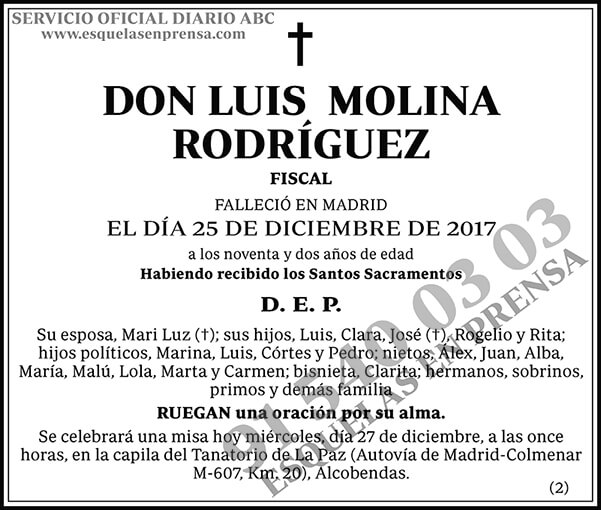 Luis Molina Rodríguez